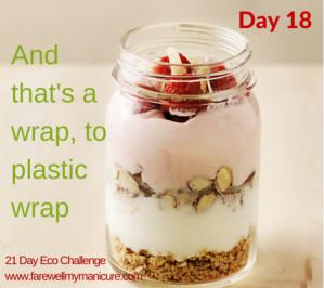 Eco Challenge Day 18