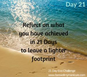 Eco Challenge Day 21