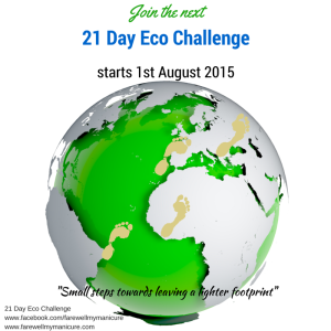 Join the 21 Day Eco Challenge August